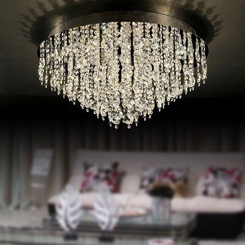 LEDシーリングライト クリスタル照明 16灯(D600×H330mm)