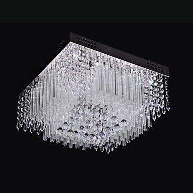 LEDシーリングライト クリスタル照明 12灯(W400×H250mm)