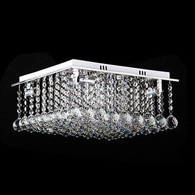 LEDシーリングライト クリスタル照明 4灯(W400×H190mm)