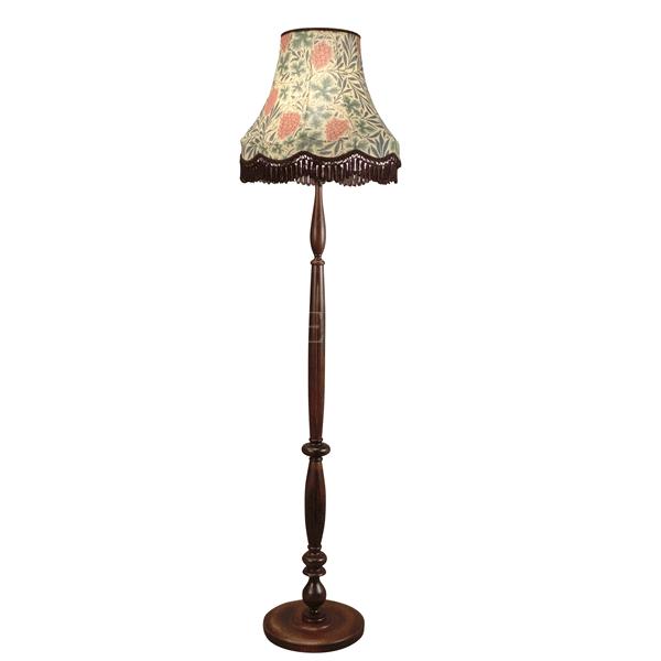 【William Morris】 アンティーク調フロアースタンド Vain(φ420×H1540mm)