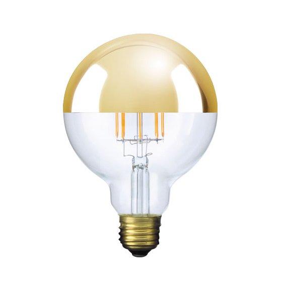 【フィラメントLED電球】Ball95 (ボール95) [Gold mirror]※調光対応