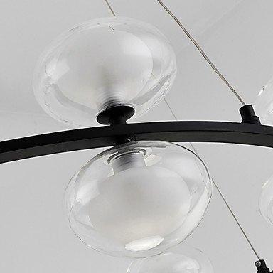 【ZHISHU】ガラスボールシェードシャンデリア8灯(W560×H560mm)