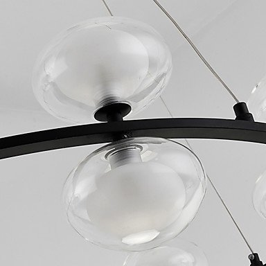 【ZHISHU】ガラスボールシェードシャンデリア12灯(W720×H560mm)