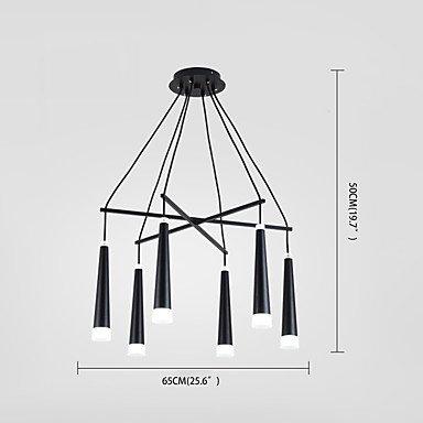 【ZHISHU】デザインペンダントライト6灯(W650×H500mm)