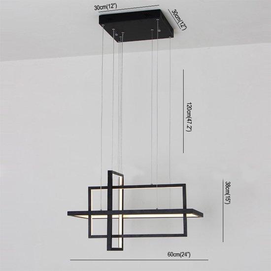【在庫有!】 【UMEI™】デザイン照明スクエア型(W600mm)