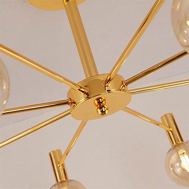 【QINGMING®】スプートニクデザインシャンデリア8灯 (W800×H380mm)