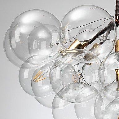 【ZHISHU】スプートニクデザインシャンデリア4灯 ホワイトorブラック(W600×H480mm)