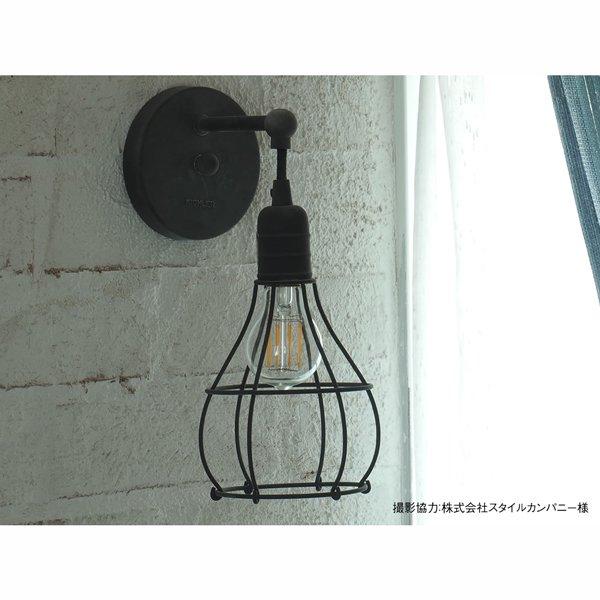 【クリプトン電球】 フィラメントLED電球「Siphon」5W (Φ60×110mm)※調光対応