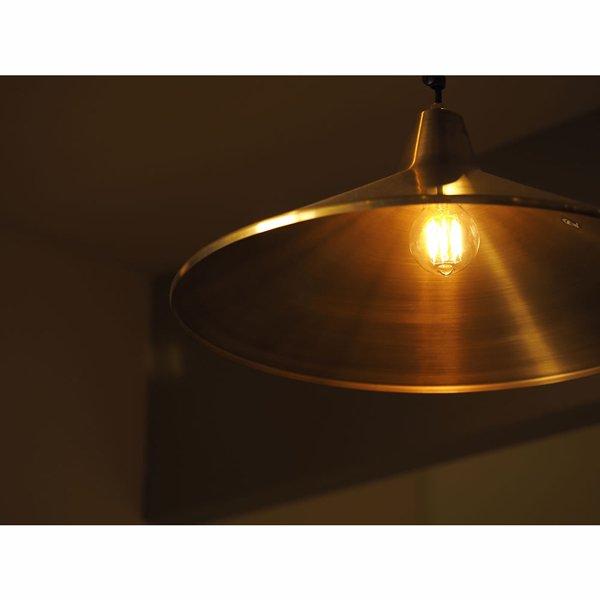 【クリプトン電球】 フィラメントLED電球「Siphon」5.5W (Φ60×110mm)※調光対応