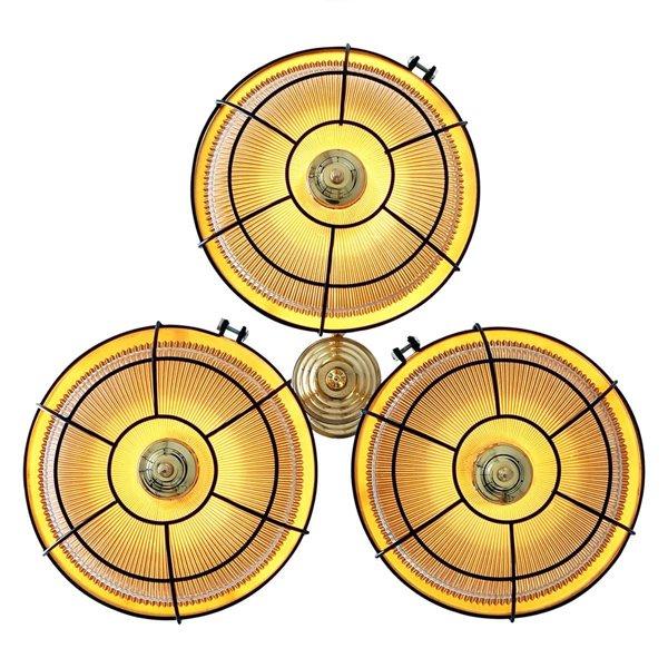 【Mullan】「MARLOW」ケージシャンデリア3灯(W700×H850mm)
