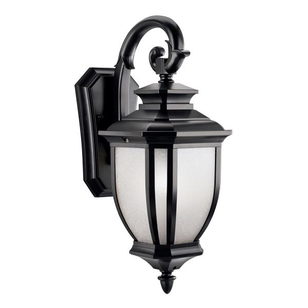 【KICHLER】米国・キチラー社 屋外用 ウォールランプ1灯ブラック(W203×H495×D273mm)