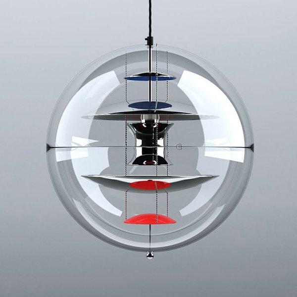 デザイン照明ペンダントライト1灯(φ400mm)