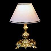 【WRANOVSKY】テーブルライト「Atria」1灯 ゴールド(φ200x H270mm)