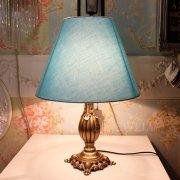 【1台在庫有!】シェードテーブルライト 1灯 ゴールド(φ340 x H450mm)