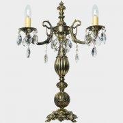 【WRANOVSKY】クリスタルテーブルライト「Sagitta」3灯 ゴールド(W400×H600mm)