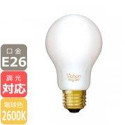<B>【LED電球】</B>The Bulb 「Siphon」 White  6W/E26 (40W相当) (φ60x105mm)※調光対応