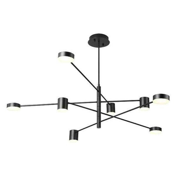 デザイン照明LEDペンダントライト8灯・3色(W1030×H650mm)