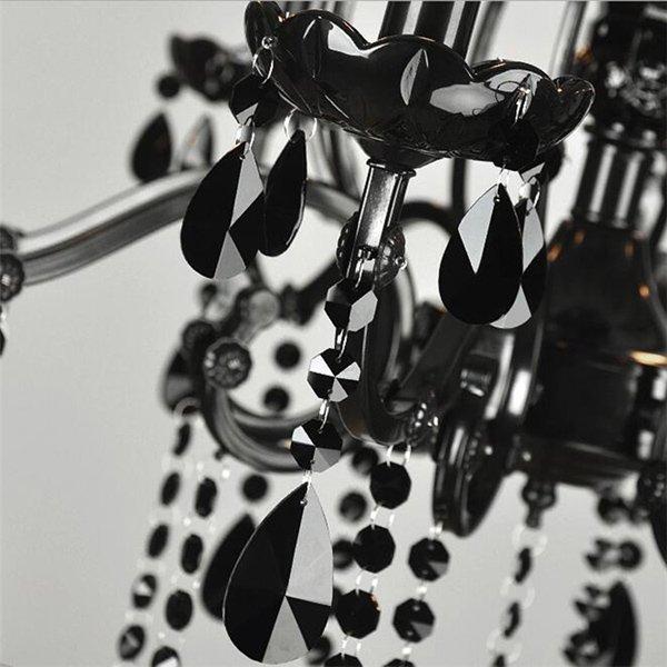 ブラックシャンデリア10灯(W880×H680mm)