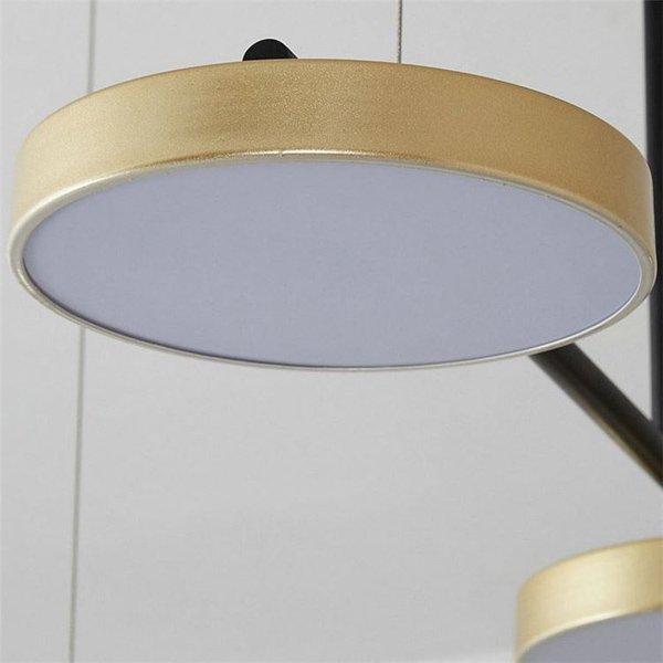 デザイン照明LEDペンダントライト6灯・3色(W1350×H600mm)