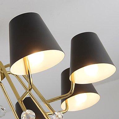 【ZHISHU】デザインシェード照明 ブラウン 10灯(W980×H40mm)