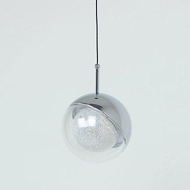 【UMEI】デザインガラスボール照明・ローズゴールドorクローム 9灯(Φ100mm)
