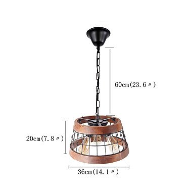 【QINGMING®】デザイン照明  3灯(W360×H200mm)