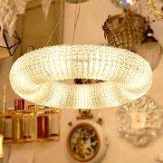 【在庫有!】デザイン照明ラウンド・ライト8灯 (Φ600mm)