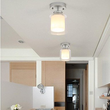 【Ecolight】デザイン照明シーリングライト1灯 ゴールド/シルバー/ブラック(Φ140×H200mm)