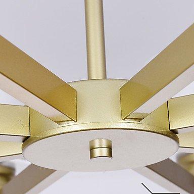 【Ecolight&】デザイン照明 8灯 ゴールド/シルバー/ブラック(Φ800×H400mm)