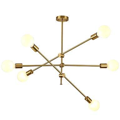 【CXYlight】スプートニクデザインシャンデリア6灯(W930×H580mm)