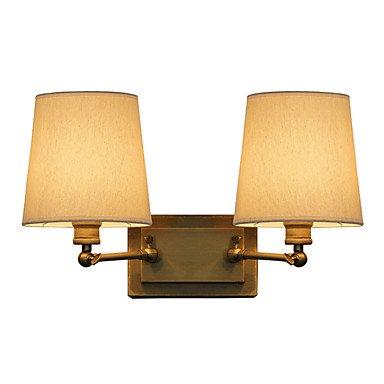 【MAISHANG】デザインウォールライト 2灯 ゴールド(約W350×H300mm)