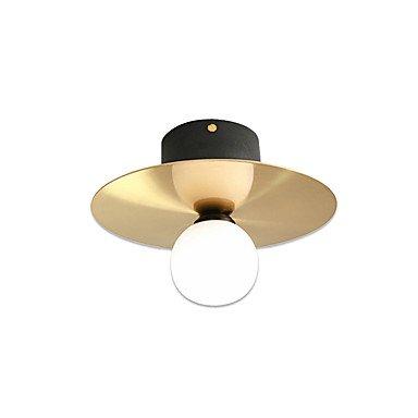 【MAISHANG】デザイン照明シーリング1灯 ゴールド(Φ230×H190mm)