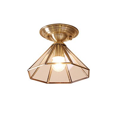 【MAISHANG】デザイン照明シーリング1灯 ゴールド(Φ220×H150mm)