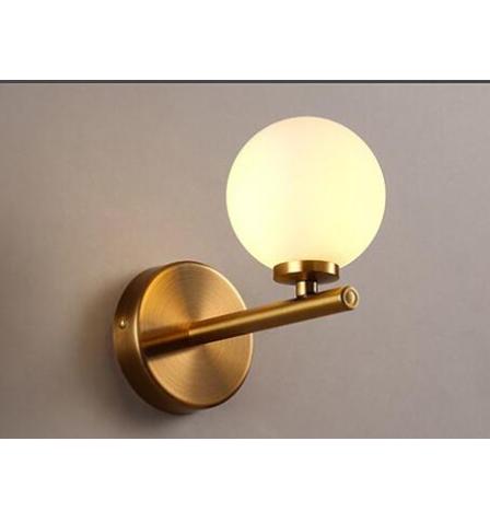 デザインウォールライト 1灯 ゴールド (W100xH160mm)
