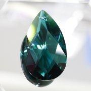 <B>【SWAROVSKI】</B>スワロフスキークリスタルパーツ ドロップ型(ダイヤカット) #8721「Em. Green」