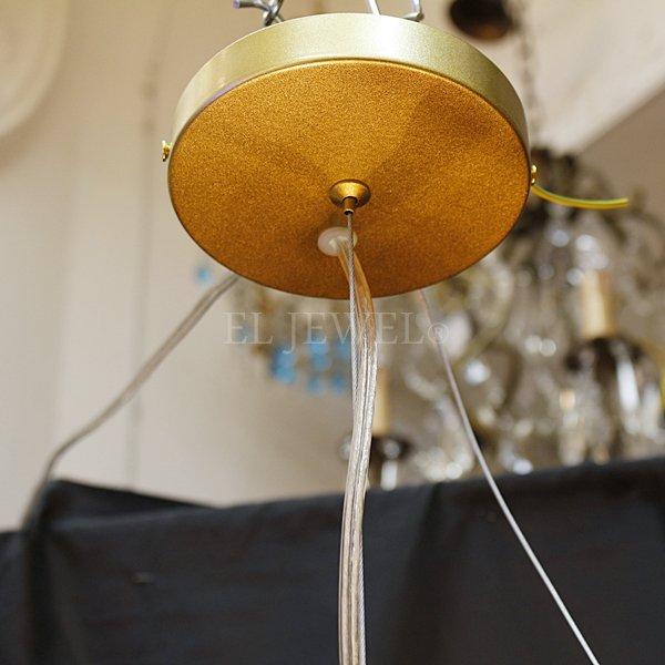 【在庫有!Φ720mmのみ】デザインスプートニク照明 9灯/12灯 ゴールド (Φ500/Φ720mm)
