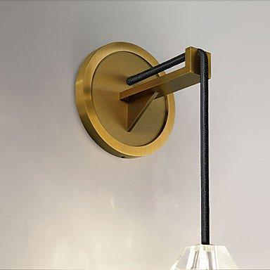 【HEDUO】ウォールライト1灯・ゴールド(W100×D170×H450mm)