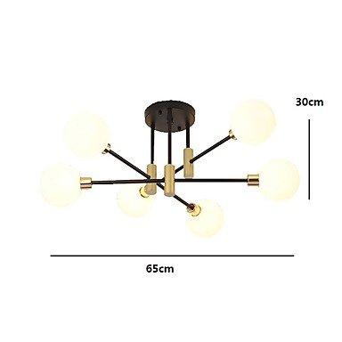 【EMPEROR LANG】シーリングライト6灯(W650×H300mm)