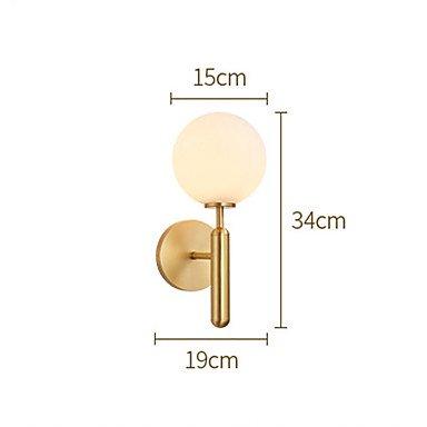 【HEDUO】デザインウォールライト1灯・ゴールド(Φ150×D190×H340mm)