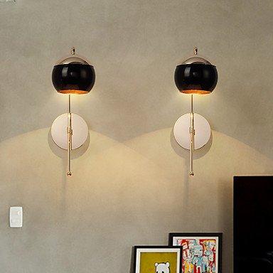 【HEDUO】デザインウォールライト1灯・ゴールド(D280×H400-500mm)
