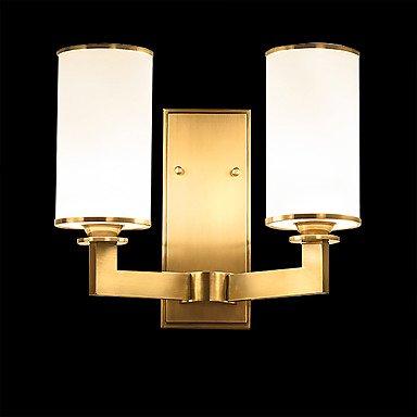 【HEDUO】デザインウォールライト2灯・ゴールド(W270×H310mm)