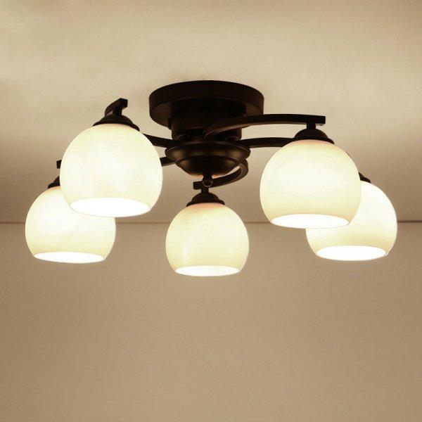 【E-Light】LEDシャンデリア 3/5/6/8灯 (D400〜D800mm×H220mm)