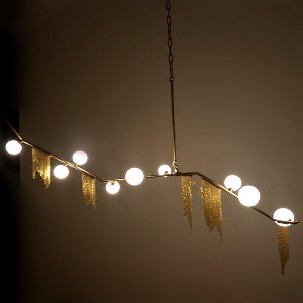 LEDデザイン照明9灯