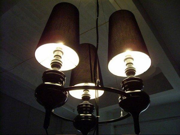 【E-Light】LEDシャンデリア ブラック/シルバー/ゴールド/ホワイト 1/3/6灯 (D150〜D750mm×H480〜H900mm)