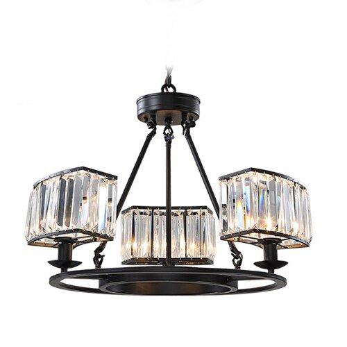 【E-Light】LEDシャンデリア 3/6/8灯 (D600〜D880mm×H450〜H530mm)