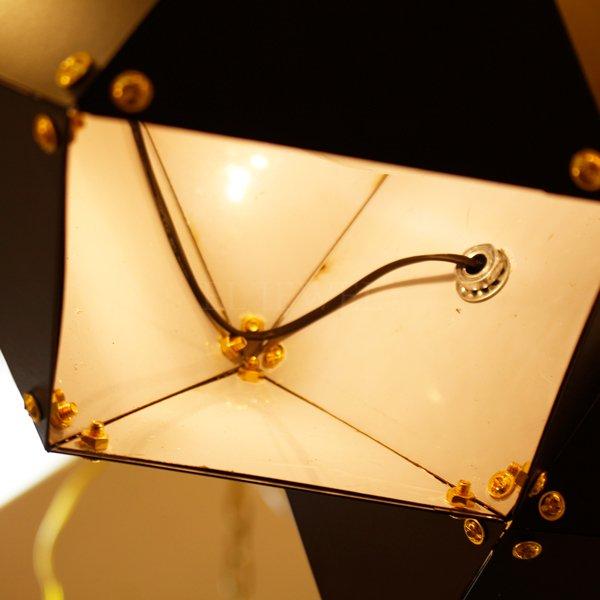 【1台在庫有!】デザイン照明 6灯 ブラック (W950×H350mm)