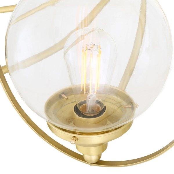 【Mullan】「WILMOT」ガラスボールシェードシャンデリア11灯(W1100×H1250mm)