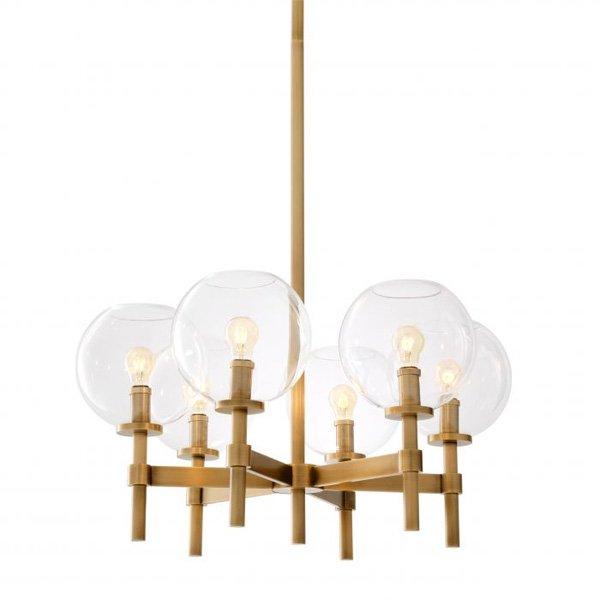 【EICHHOLTZ】デザイン照明「JADE」5灯(φ670×H445mm)