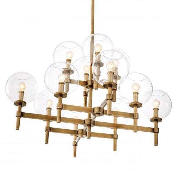 【EICHHOLTZ】デザイン照明「JADE」12灯(W1040×H705mm)
