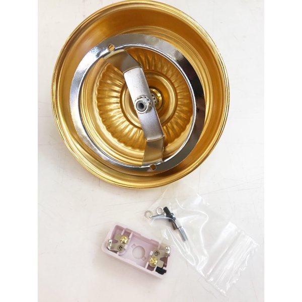 【部材】埋め込みローゼットタイプ/引っ掛けシーリング用シーリングカップ(耐荷重10kgまで)